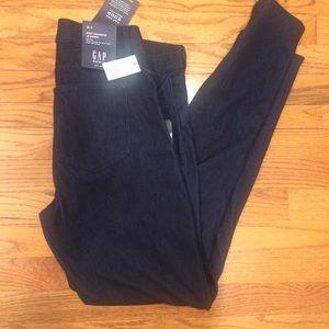 NWT Gap Mid Rise Soft Wear Knit Favorite Jeggings